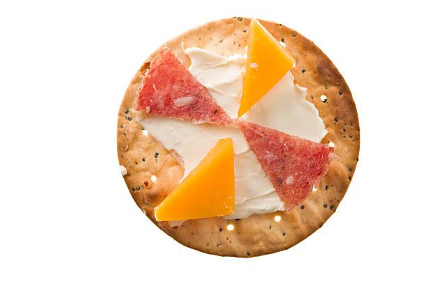 hors d'oeuvres - salami vorspeise stock-fotos und bilder