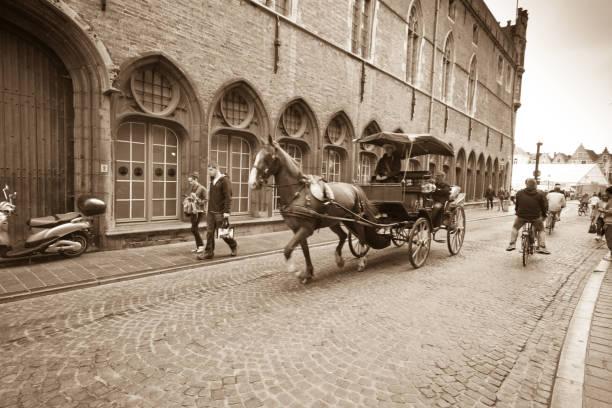 Calèche à Bruges - Photo