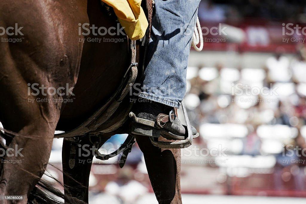 Cheval, bottes, & Spurs (shallow focus - Photo