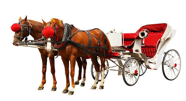 horse carriage - 載客馬車 個照片及圖片檔