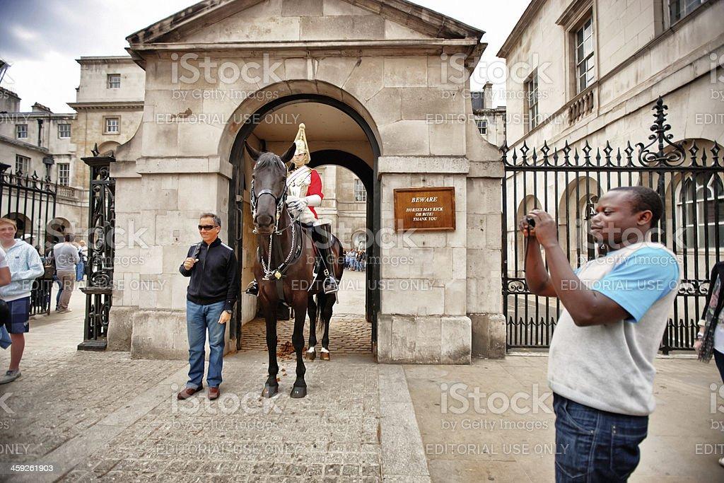 Horse Guard, London royalty-free stock photo