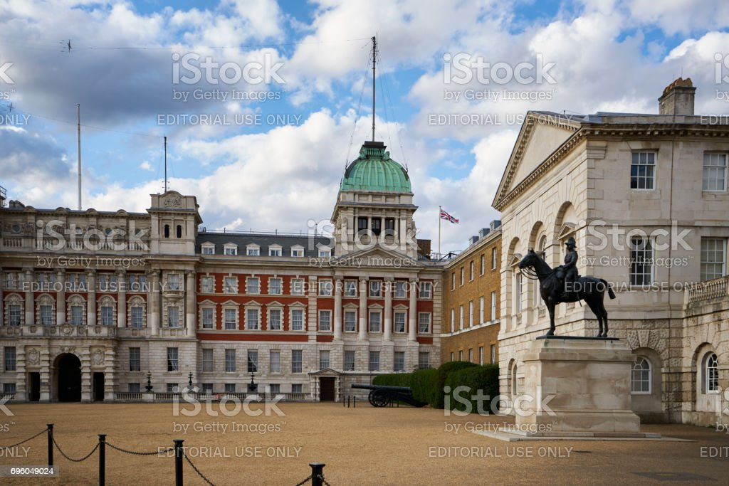 Horse Guards Palace stock photo