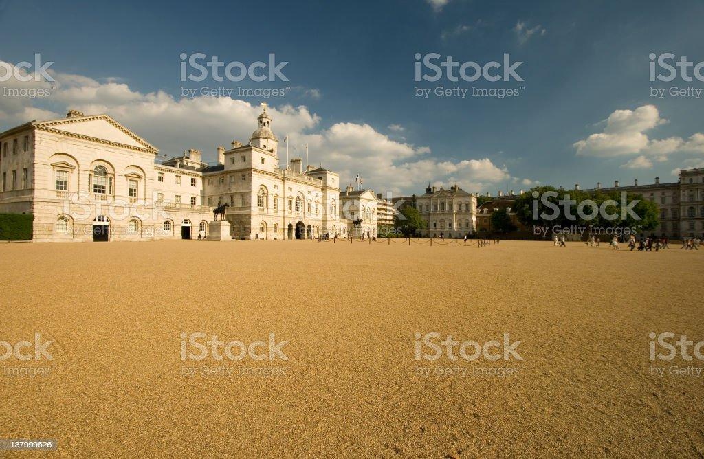 Horse Guards Parade, London, UK royalty-free stock photo
