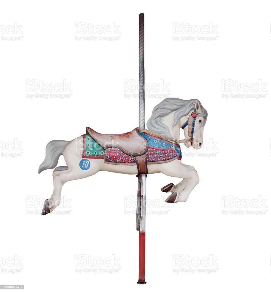 Horse In Merry Go Round Stock Photo Download Image Now Istock