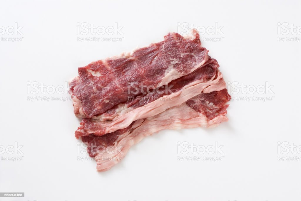 Horse meat stock photo