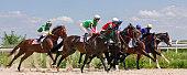 istock Horse racing 514154396