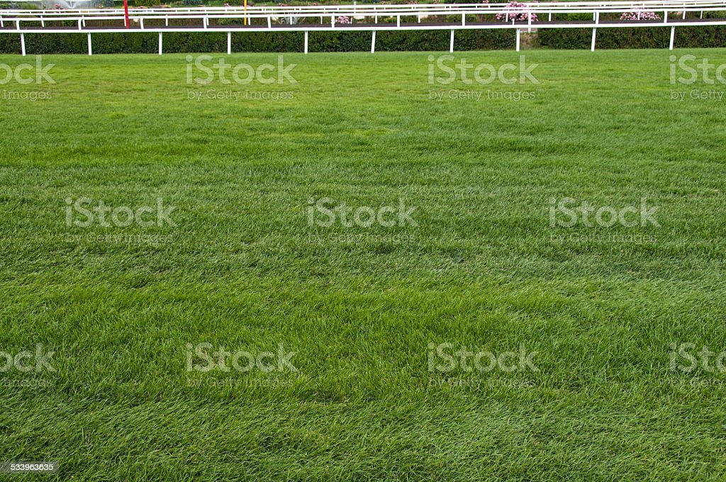 Horse Racing Tracks stock photo