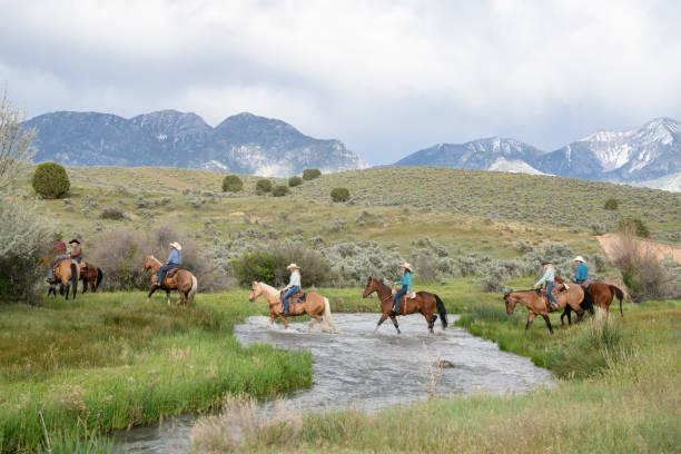 Horse riders crossing creek utah usa picture id998373952?b=1&k=6&m=998373952&s=612x612&w=0&h=qxblzkwmlwhfml2fxfqajvbuyhjmwajmbbnhoovoenu=