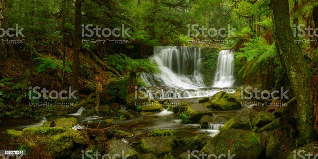 Horse Shoe Falls stock photo