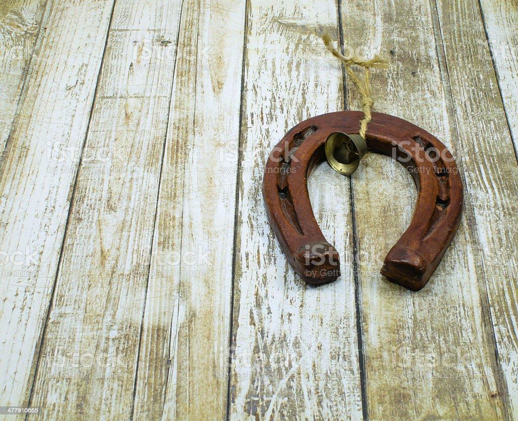 horse shoe stock photo