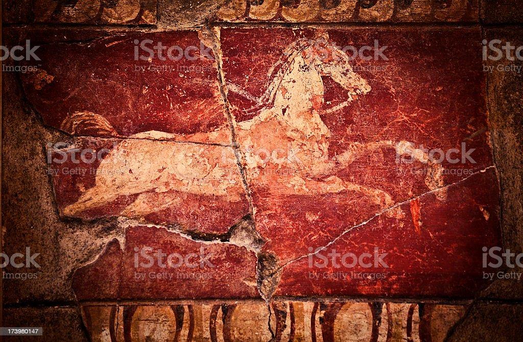 Cavalo garanhão decoração - foto de acervo
