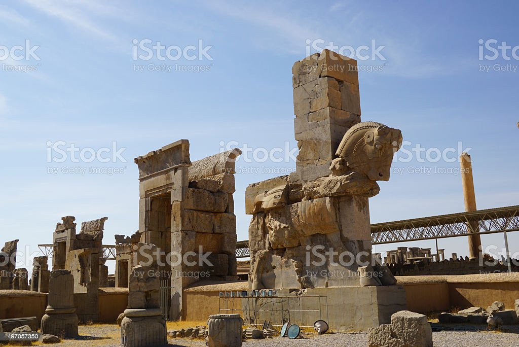 Horse Statue Of Persepolisiran Stock Photo Download Image Now Istock