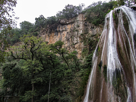 """Horse Tail (""""Cola de Caballo"""") Waterfall, Inside the Town of Santiago, in México (about 30km from Monterrey)"""