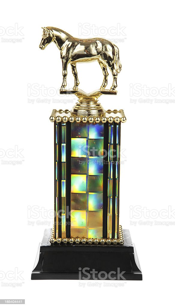 Horse Trophy royalty-free stock photo