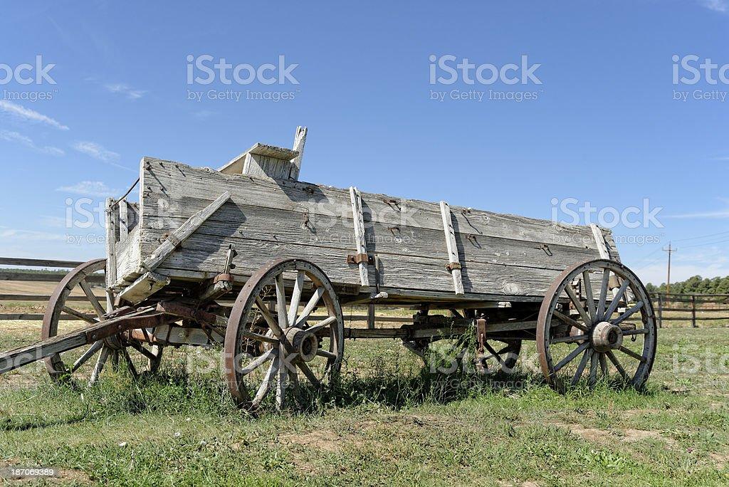 Horsedrawn wagon royalty-free stock photo