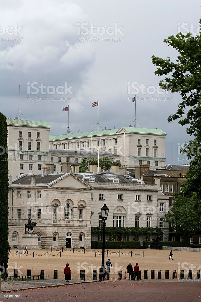 Horseguards Parade Ground stock photo