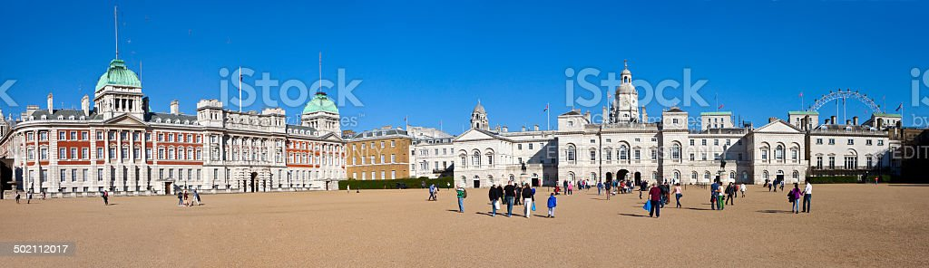 Horseguards Parade in London stock photo