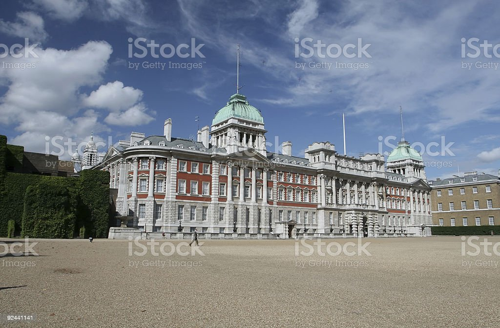 Horseguards Parade, London stock photo