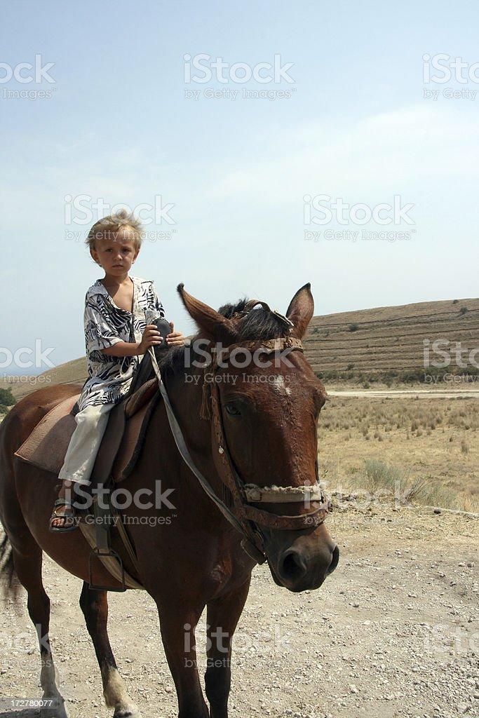 horseman royalty-free stock photo