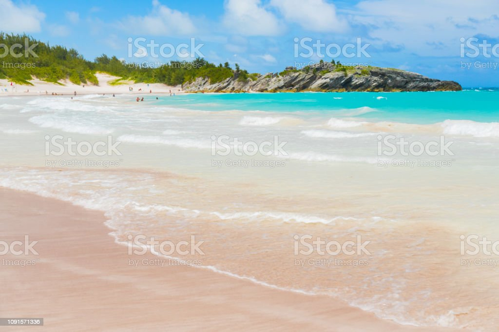 Horseshoe Bay in Bermuda – Foto
