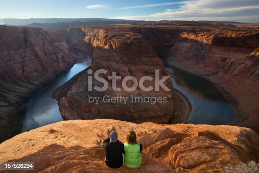 istock Horseshoe Bend afternoon on the Colorado River. 157526294