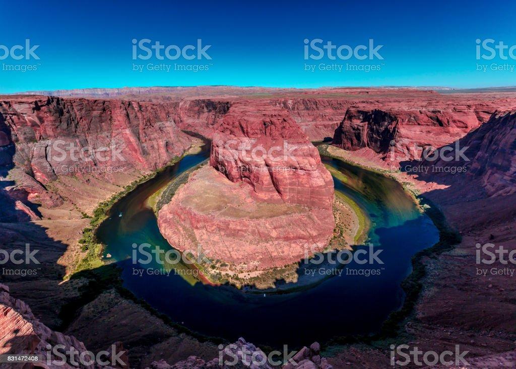 Horseshoe Bend, Arizona stock photo