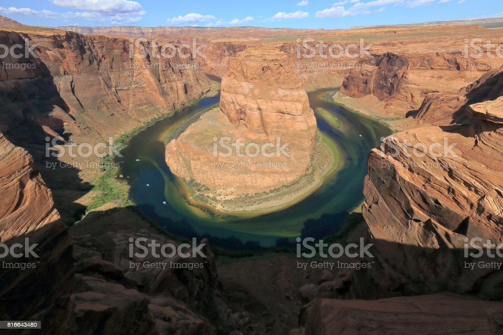 Horseshoe Bend, Arizona, USA stock photo