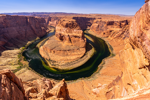 Horseshoe Bend Grand Canyon Stock Photo - Download Image Now