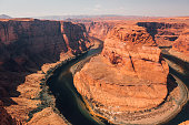 Horseshoe Bend is a famous meander on river Colorado