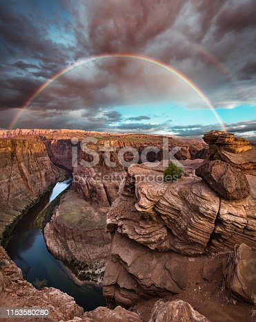 horseshoe bend landscape