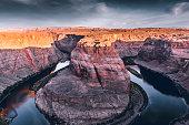 Horseshoe Bend on Colorado River - Arizona