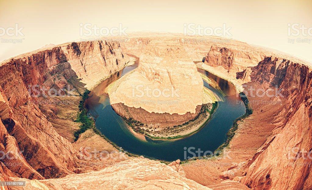 Horseshoe Bend - USA royalty-free stock photo