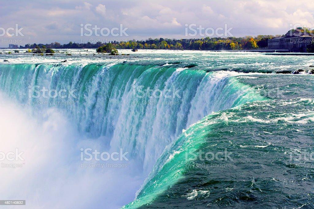 Horseshoe Falls Canada stock photo