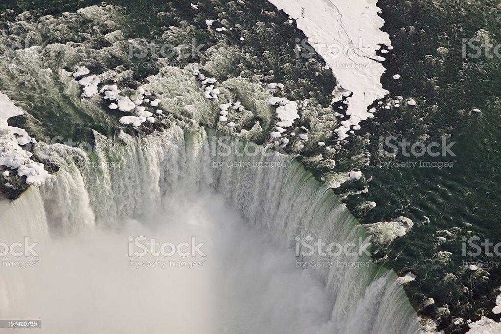 Horseshoe Falls from above royalty-free stock photo