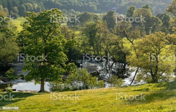 Horseshoe Falls Outside Llangollen In Wales - Fotografias de stock e mais imagens de Anoitecer