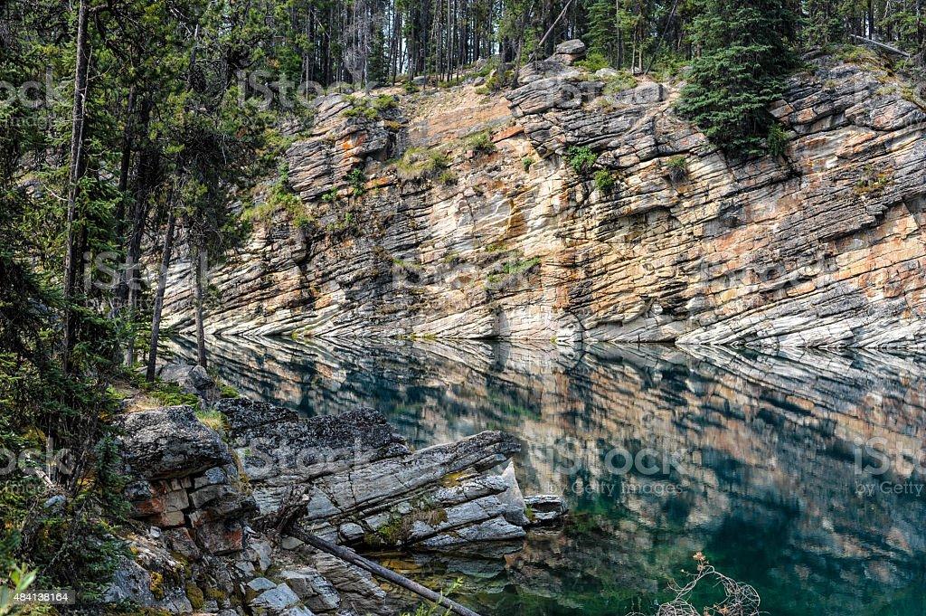 Horseshoe Lake stock photo