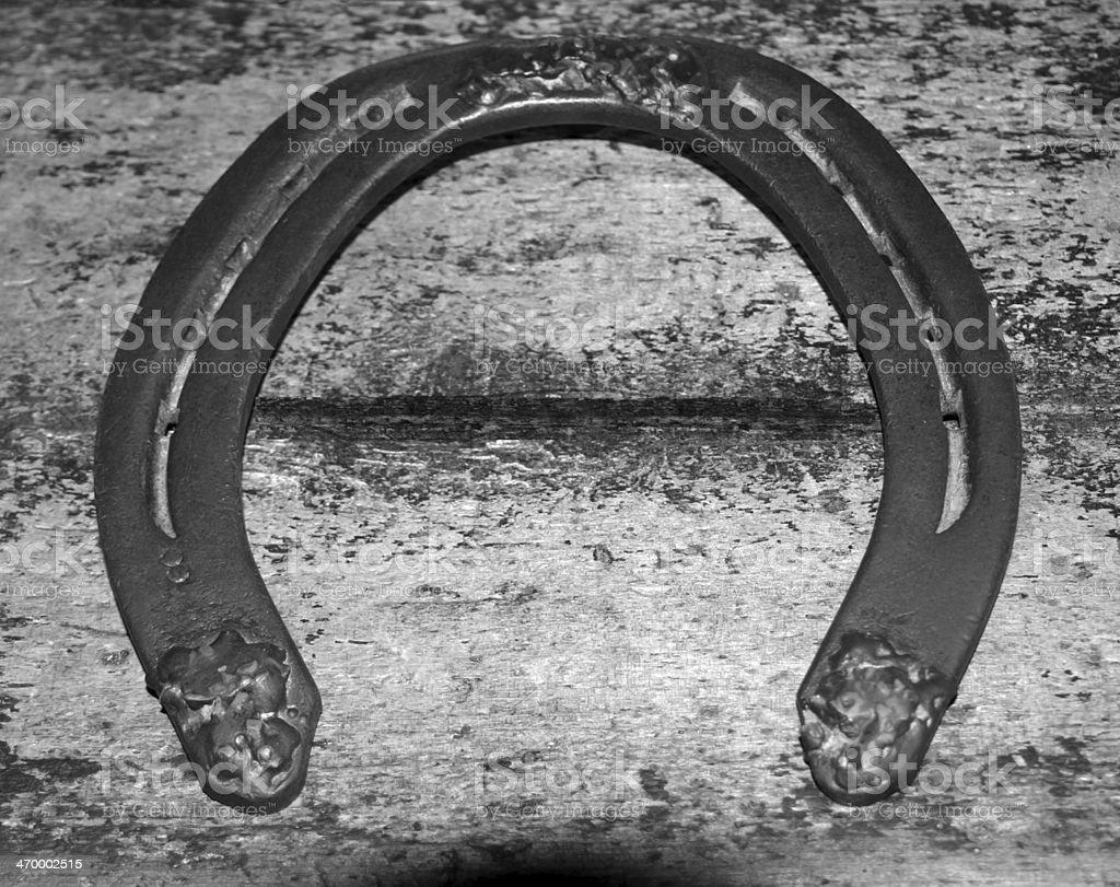 Horseshoe royalty-free stock photo