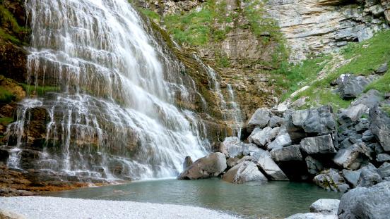 Horsetail (Cola de Caballo) Waterfall