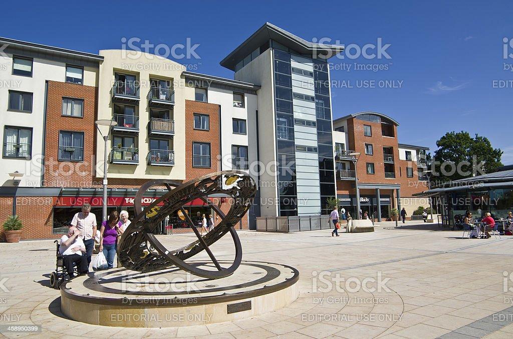 Horsham West Sussex - The Forum stock photo