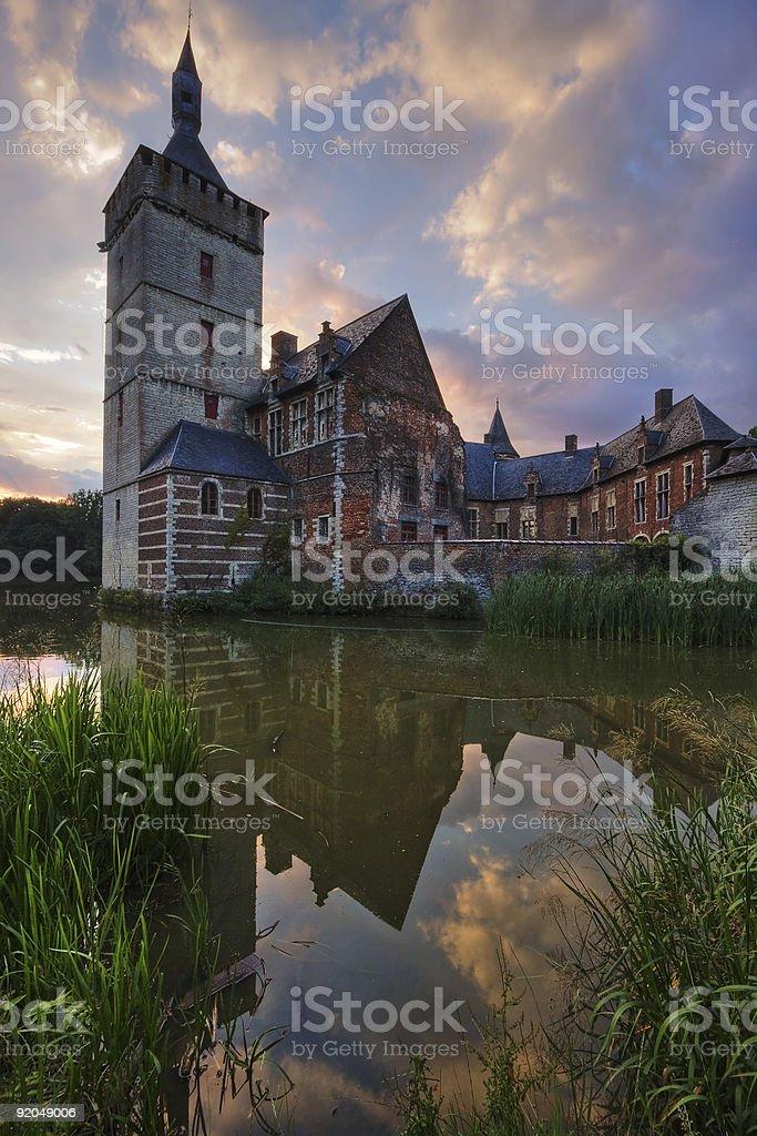 Horst castle stock photo