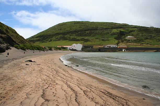 Horta, Azores Beach stock photo