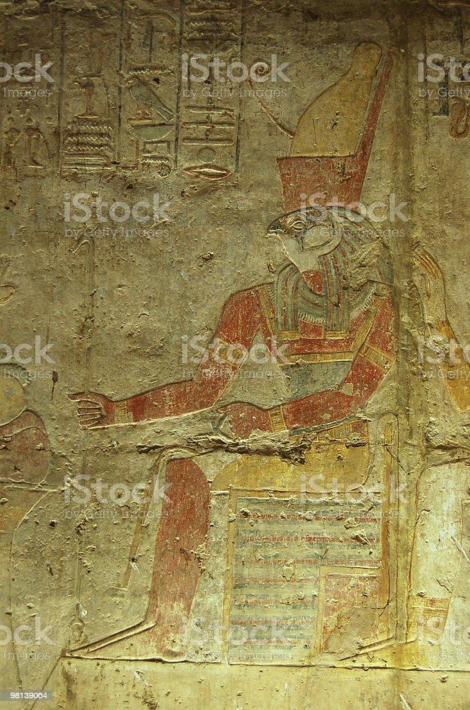 Horus painting royalty-free stock photo
