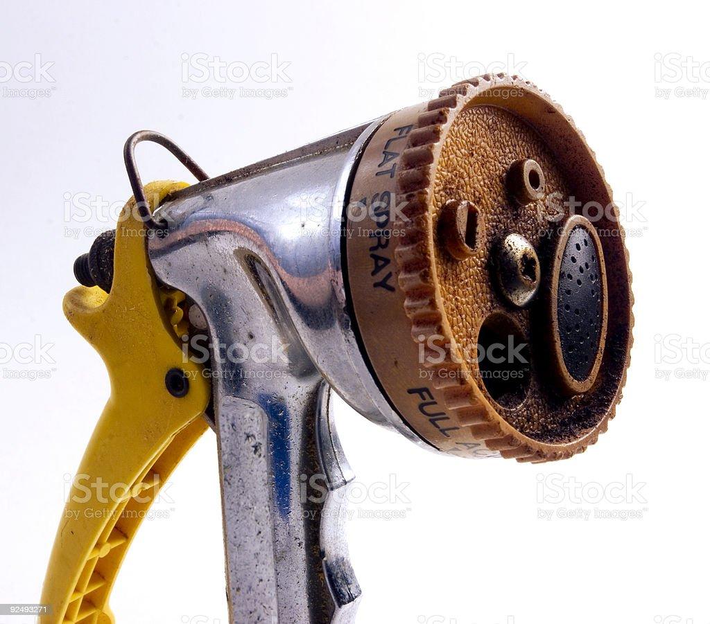 Hose Nozzle royalty-free stock photo