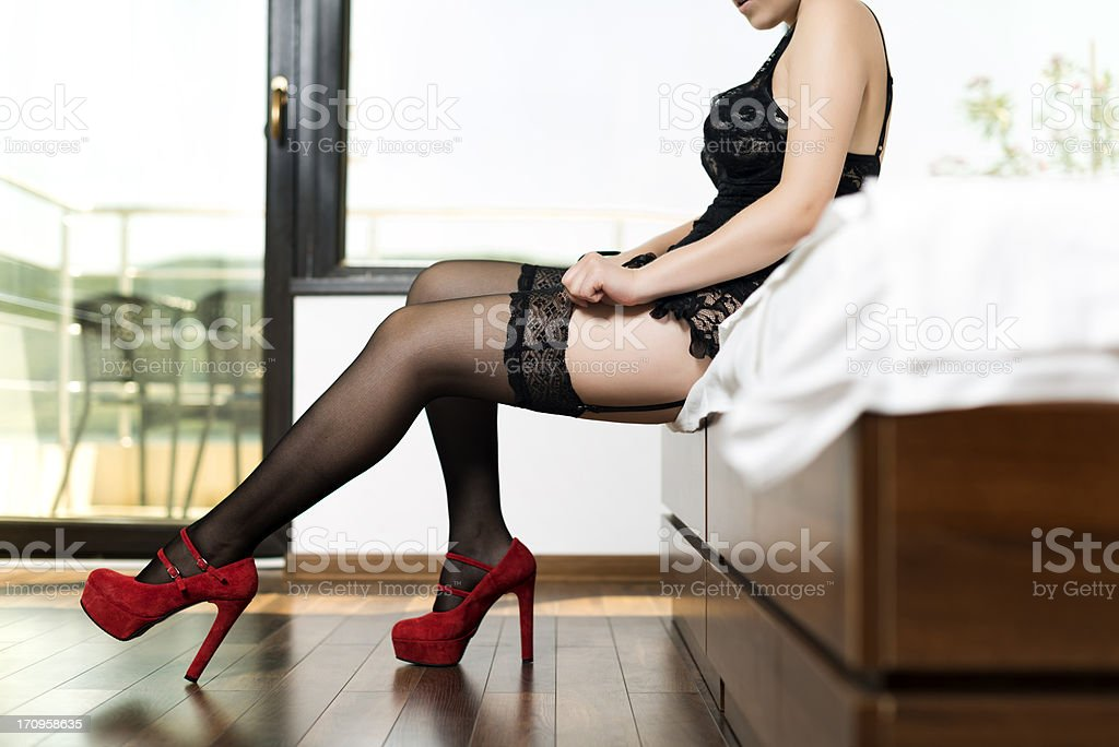 hosiery stock photo