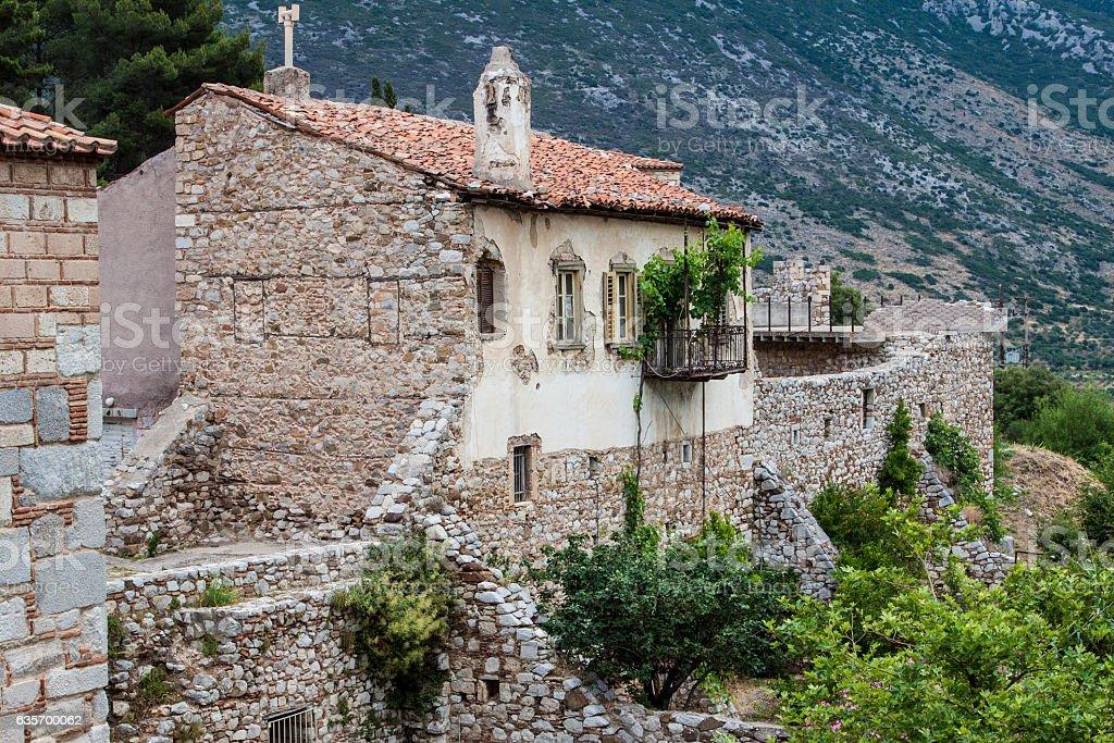 Hosios Loukas Monastery Greece royalty-free stock photo