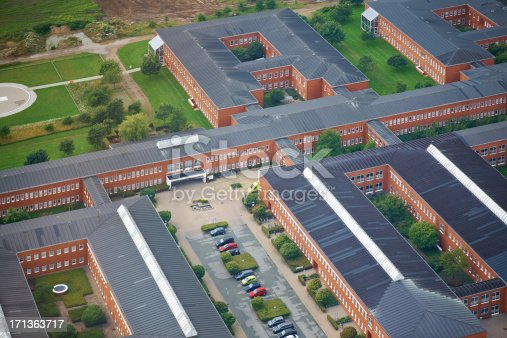 istock Hospital area seen from above 171363717