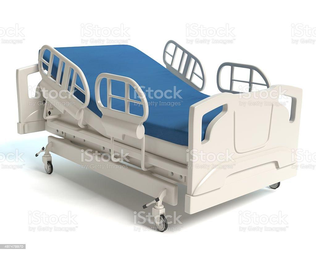 Krankenhaus-Bett – Foto
