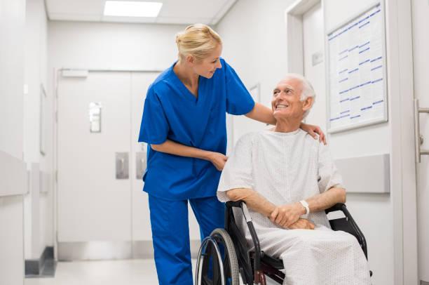 hospital care - rechtsassistent stock-fotos und bilder