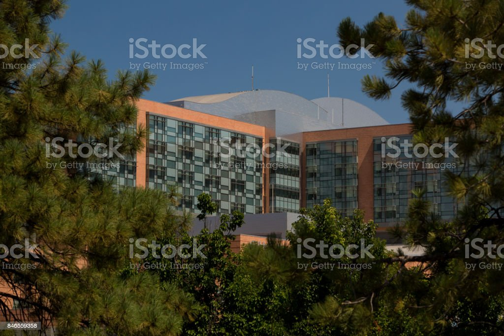 Hospital Composition stock photo