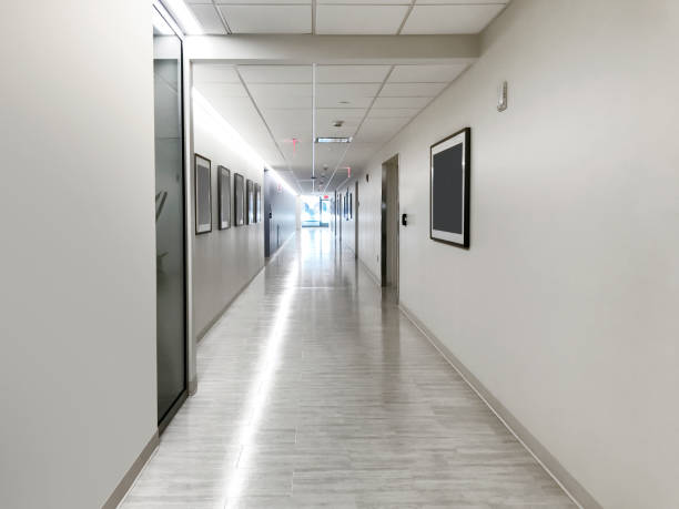 Hospital corridor Hospital corridor corridor stock pictures, royalty-free photos & images